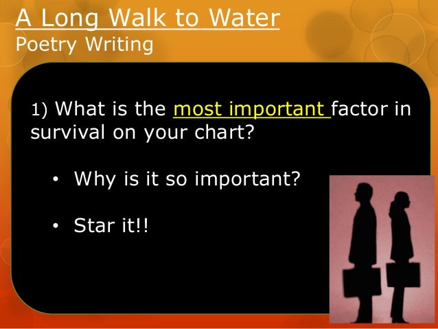 a long walk to water essay questions The ones who walk away from omelas analysis essay