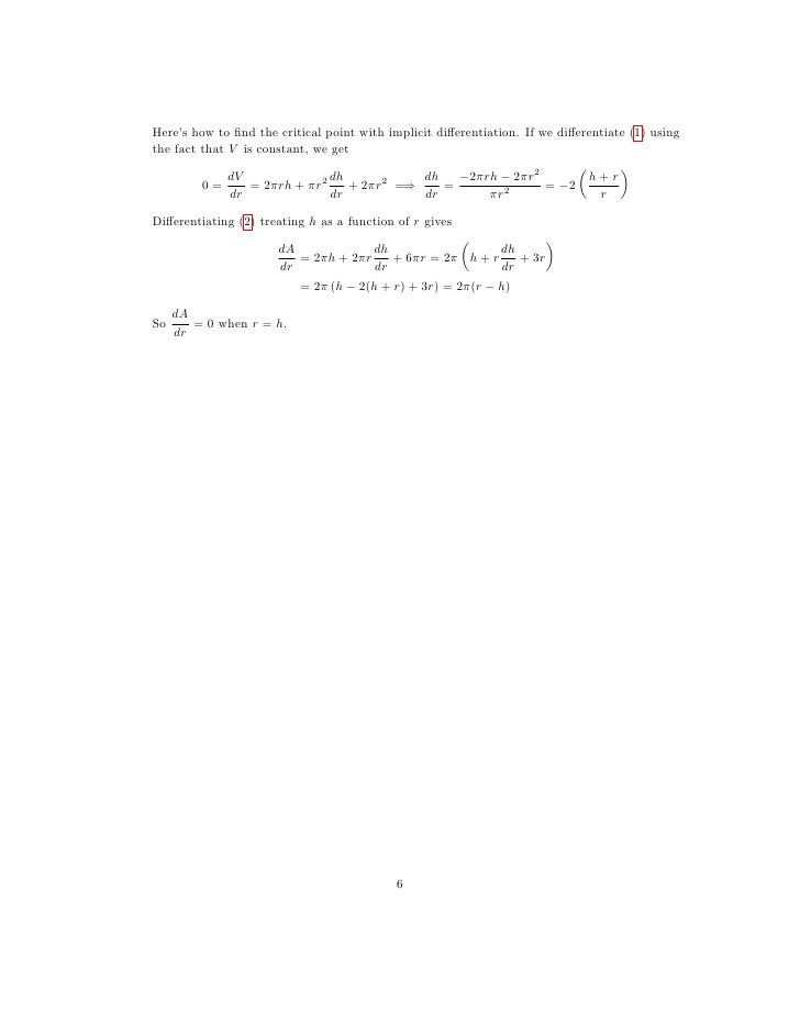 Applications of Derivatives: Concavity and Optimization Higher Ed ...