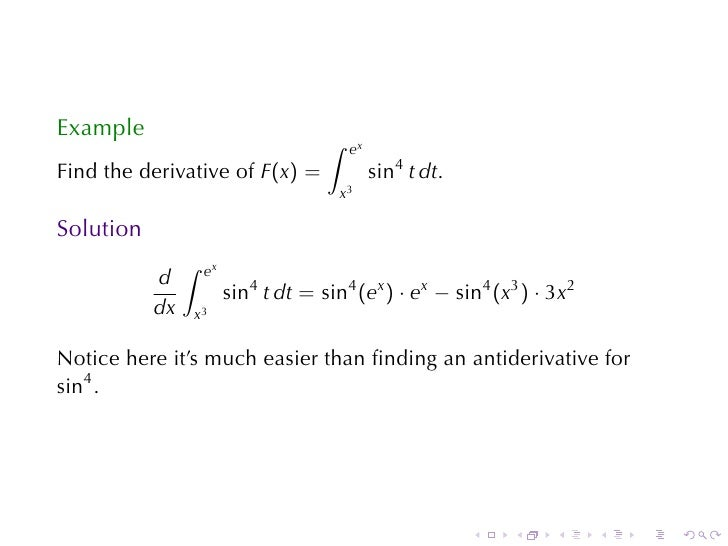 Lesson 28: The Fundamental Theorem of Calculus