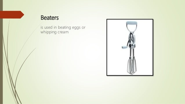 Lesson2 Baking Tools And Equipment And Their Functions