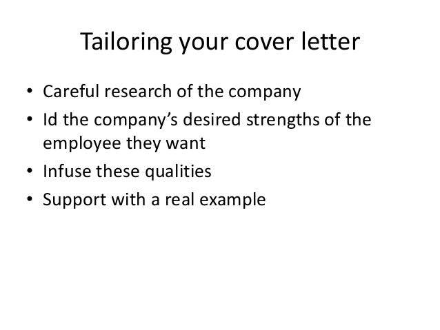 lesson 2 cover letters