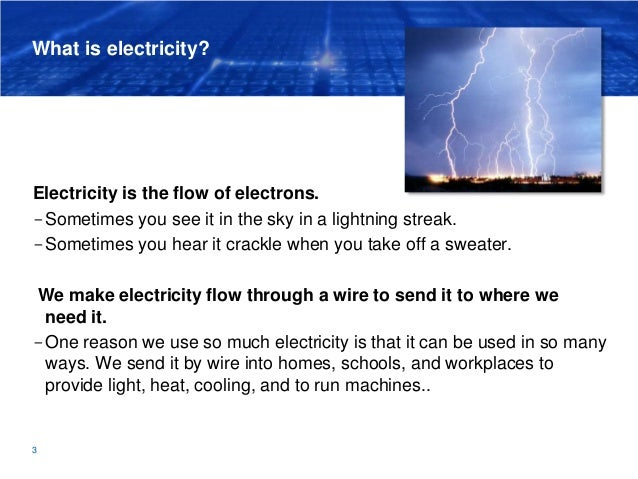 Lesson 2 Electricity | The Harnessed Atom (2016) Slide 3