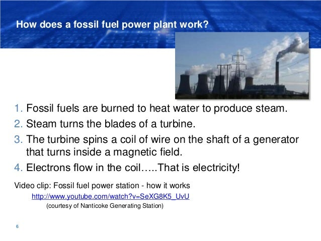 Lesson  Fossil Fuels Coal Oil And Natural Gas