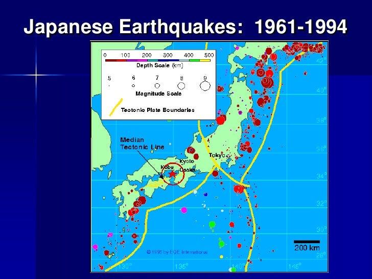 Delightful Japanese Earthquakes: 1961 1994u003cbr / ...