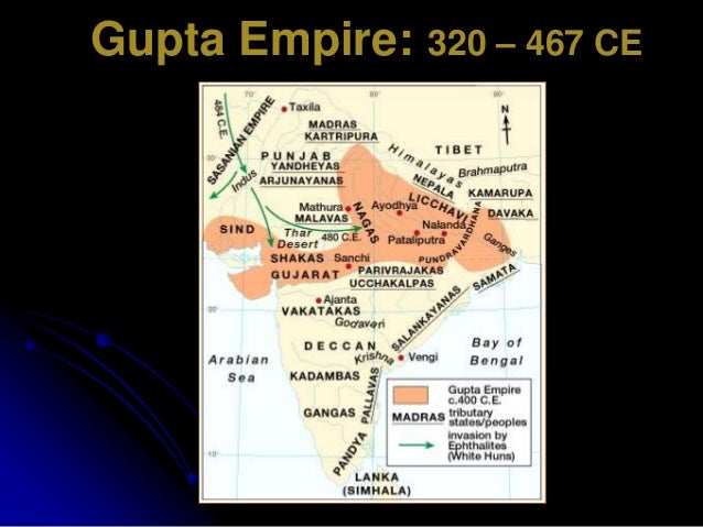 gupta empire india scientifically advanced describes scien Gupta empire brought peace and prosperity to india after the fall of mauryan   this period is called the golden age of india and was marked by extensive  inventions and discoveriesin science,  in ganitapada the area of a triangle has  been described  it had very advanced mathematics, even inventing the  numberrs 0–9.