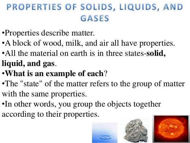 (Lesson 2)properties of solids, liquids, and gases