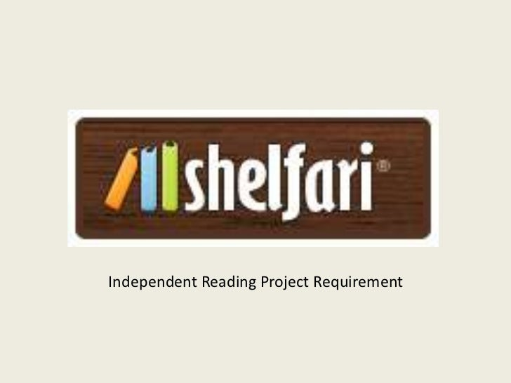 Independent Reading Project Requirement