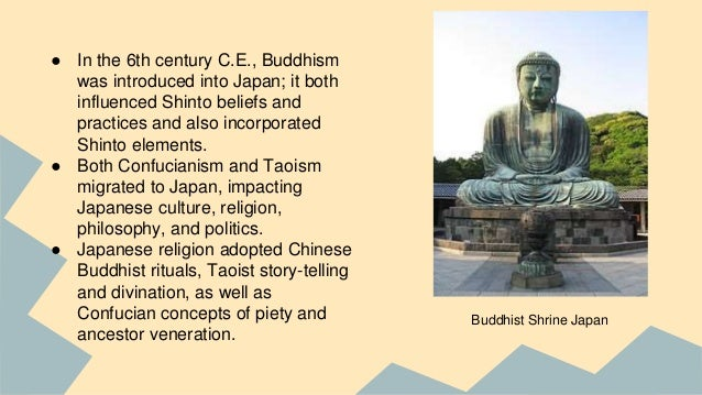 An introduction to the history of shintosim and buddhism