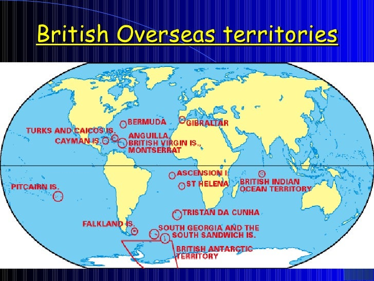 Map Of Uk Overseas Territories.Lesson2 Superpowersthroughtime