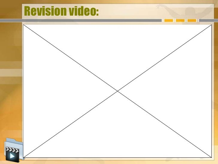Revision video: