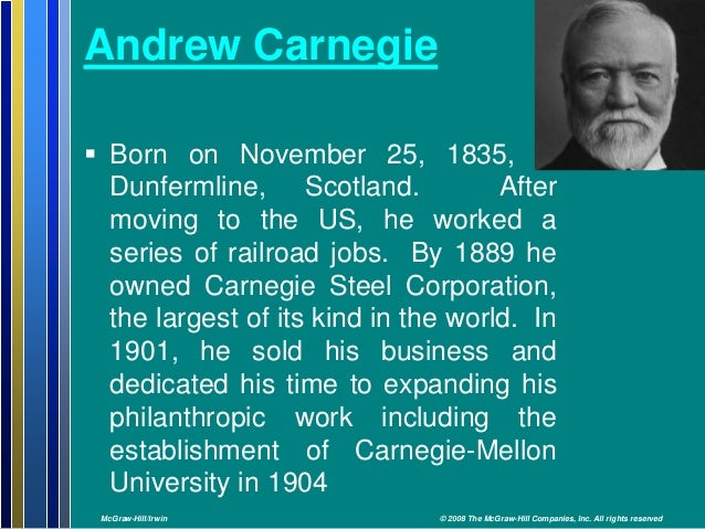 Are Andrew and Dale Carnegie related?