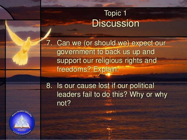 Topic 1 Discussion 9. Why is it particularly discouraging when people who should stand firm buckle under pressure?