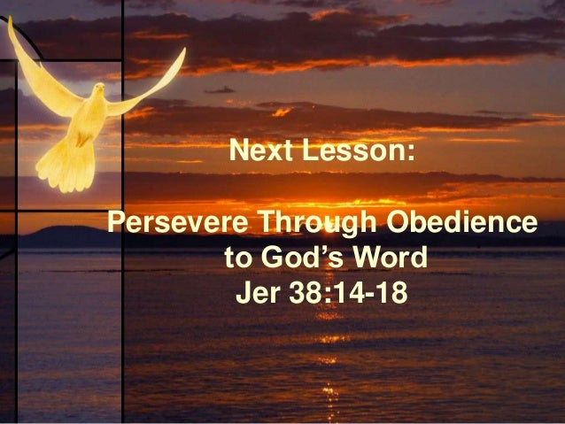 Lesson 3-4B: Persevere When Others Waver
