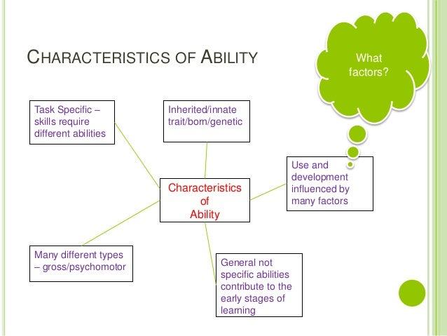 Lesson 3 Ability
