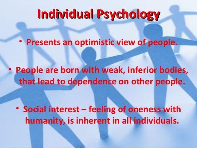 Lesson 3 adler's individual psychology