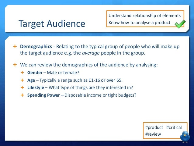 Lesson 3 - Target Audience