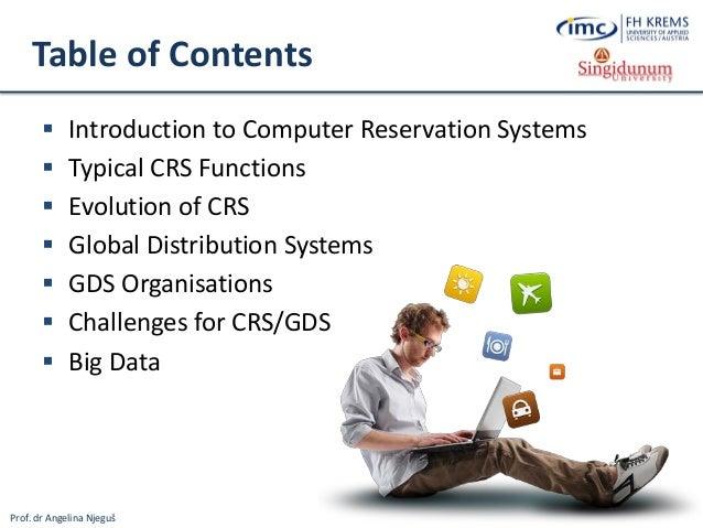 Computer Reservation System (CRS)