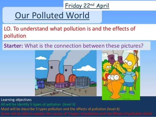 lesson 3 pollution