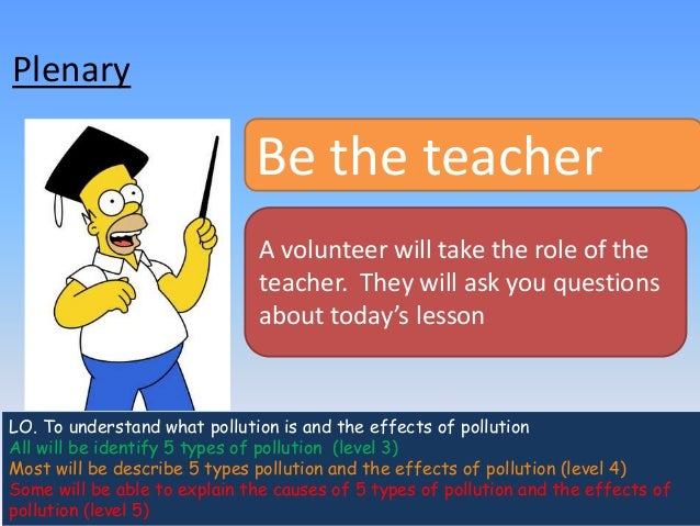 5 main types of pollution