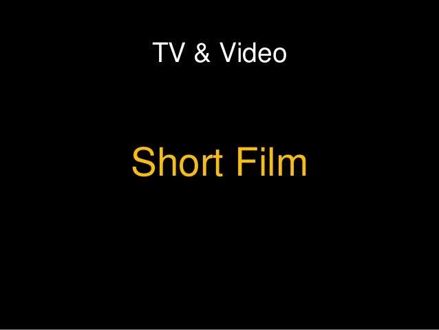 TV & Video Short Film