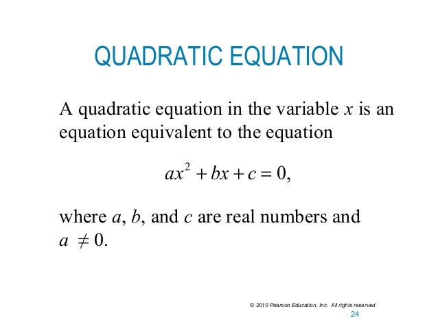 Quadratic Equation In Standard Form Dolapgnetband