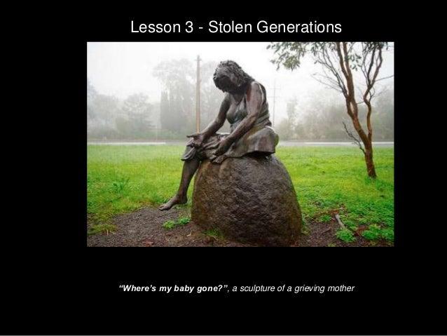 Stolen generation 3 essay