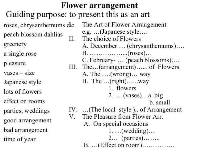 flower essay in english