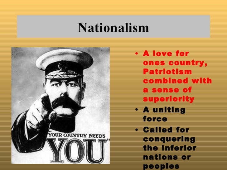an analysis of causes of wwi the militarianism in the glorification of armed strength View notes - wwi and the russian revolution: 1914-1920_1term: definition: militarism: glorification of armed strength term: definition: ultimatum: final demand that if not met will end negotiations &.