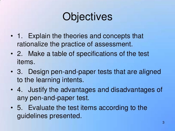 Lesson 3 Developing A Teacher Made Test