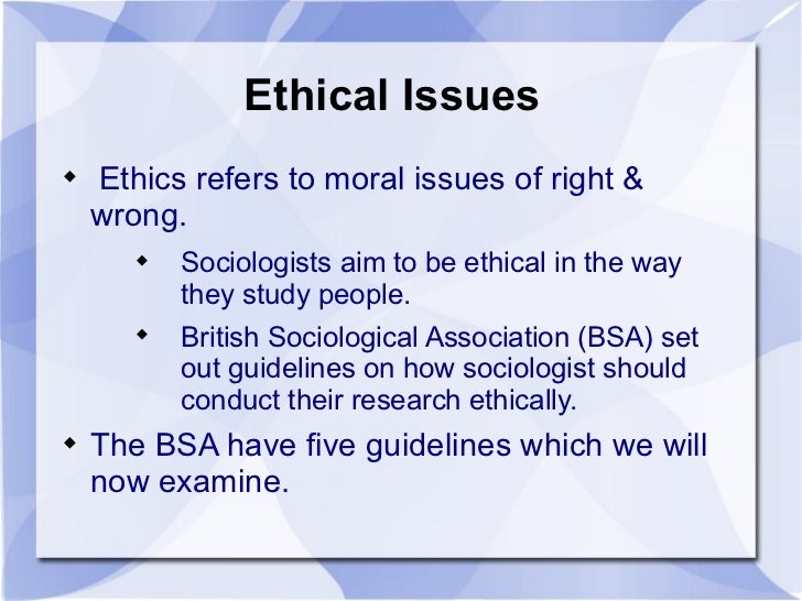 Marketing Issues That Have Ethical Implications
