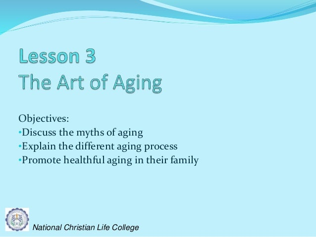Moral lessons of the aged mother