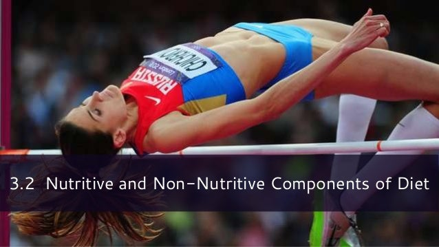 3.2 Nutritive and Non-Nutritive Components of Diet