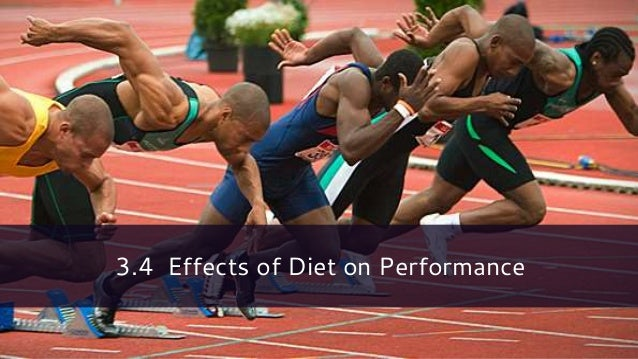3.4 Effects of Diet on Performance