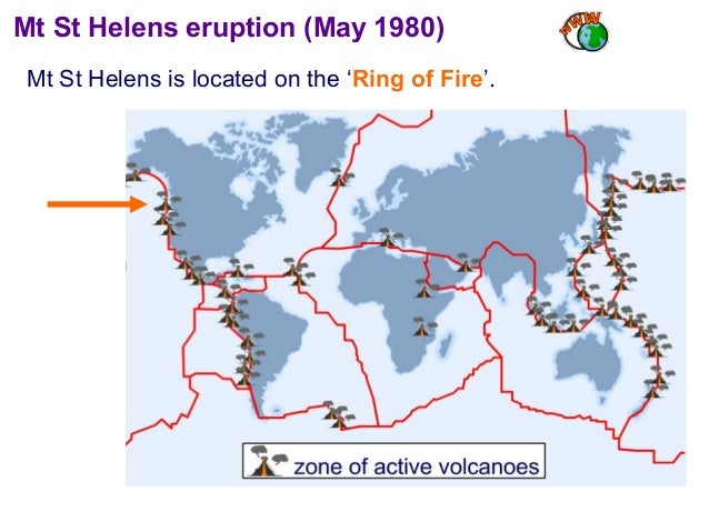 Lesson The Eruption Of Mt St Helens - Mt st helens on us map
