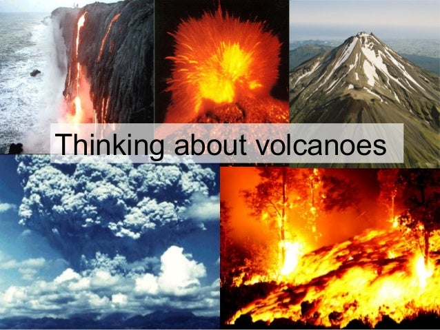 Thinking about volcanoes