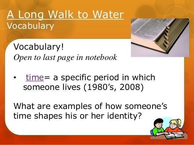 A Long Walk to Water - Lssn 4