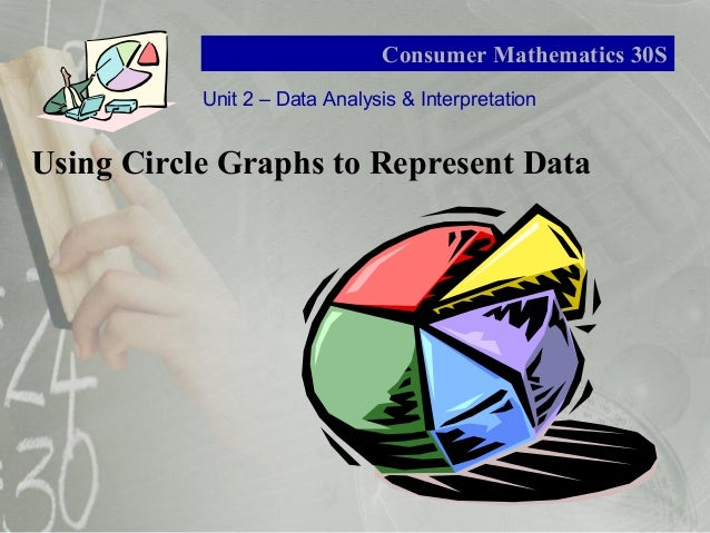 Unit 2 – Data Analysis & Interpretation Consumer Mathematics 30S Using Circle Graphs to Represent Data