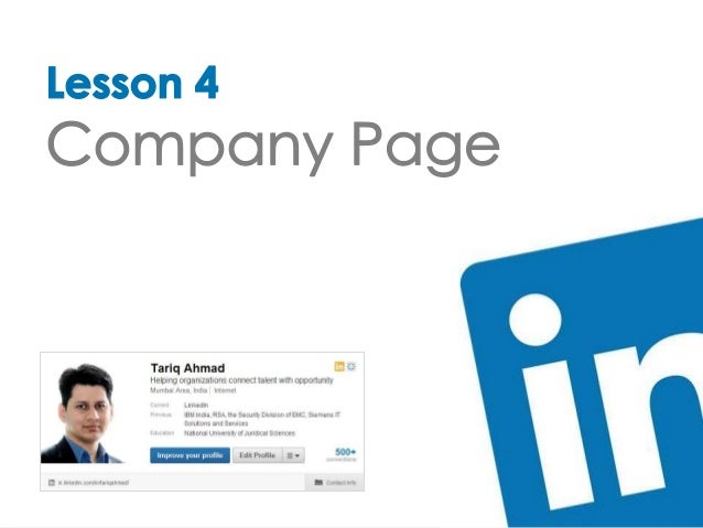 Create Your Company Page