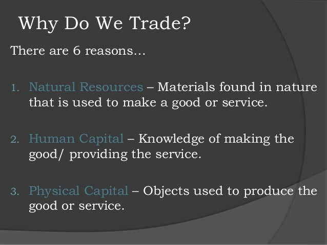 Lesson 4 Free Trade Power Point Duke 1