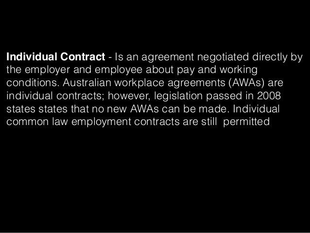 collective agreements vs individual agreements It's getting harder to say goodbye: nlrb limits construction industry employers' contract expiration withdrawal rights from multi-employer association.
