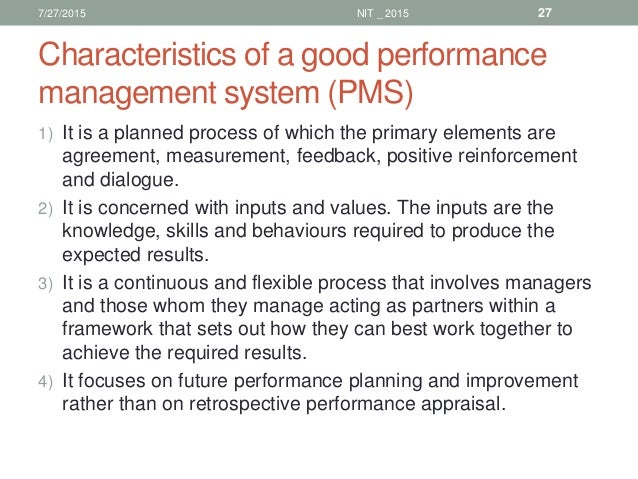 two purposes of reward within performance management Role of performance appraisal system but rather as and important process within a broader performance management system the two central purposes of the.