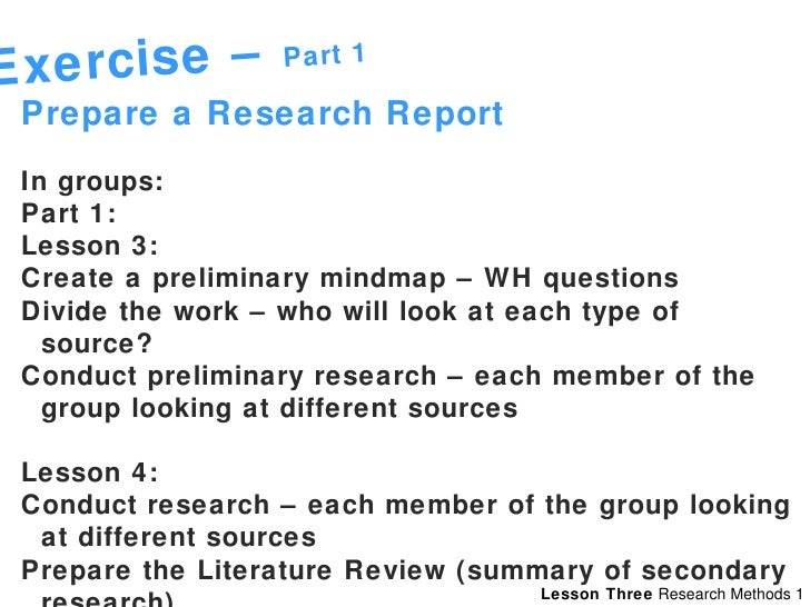 Conduct secondary research dissertation
