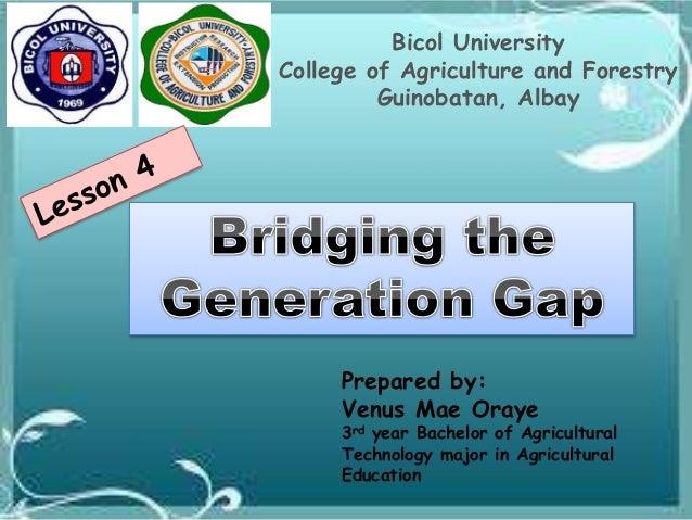 Bridging Generations 1
