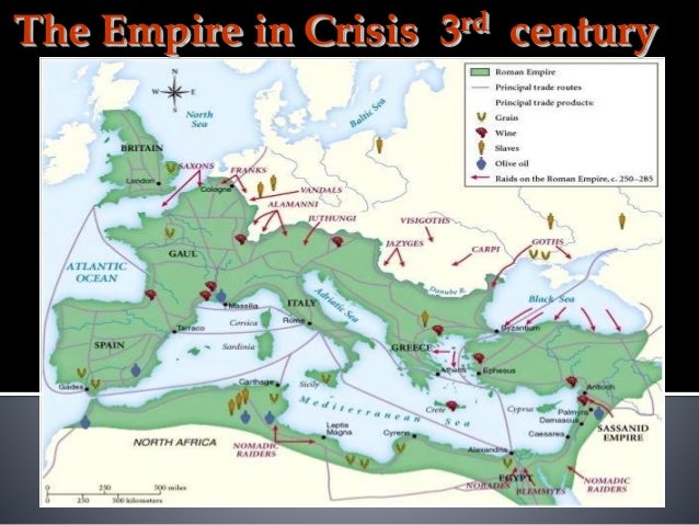 Late Roman Empire Map.Late Roman Empire And Fall