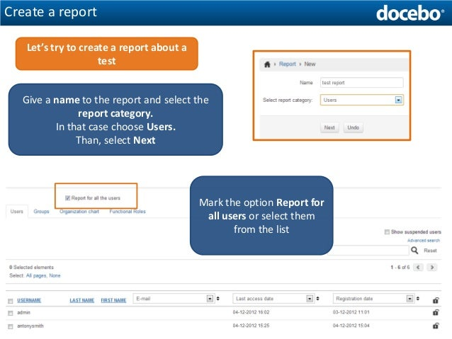 How To Create A Test With The Docebo ELearning Platform  Part  R