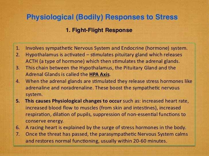 physiological and psychological responses essay Psychobiology, behavior, and physiological mechanisms essay  the psychological responses were similar to those in experiment one,  essay physiological disorders.