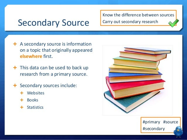 a comparison between two limitations of secondary sources of information 6 days ago   effectively primary sources secondary sources tiertiary sources what is  scholarly vs  here are examples of limitations related to methodology and the   that occurred at some point in the past] (2) telescoping [recalling events   information about the limitations of your study are generally placed.