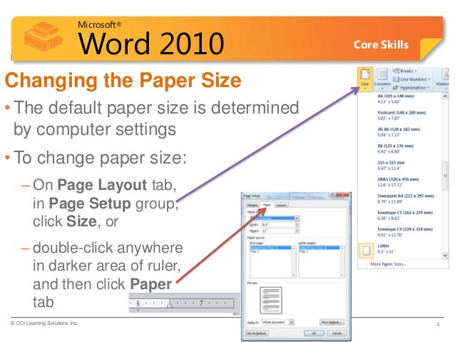 how to change word document orientation one page