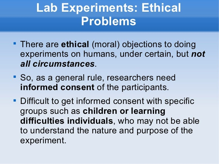 Is it morally wrong to experiment on animals?