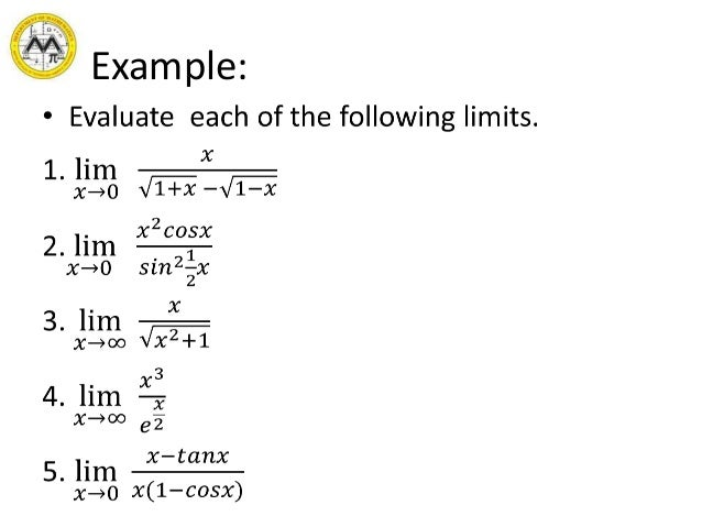 Lesson 5 indeterminate forms